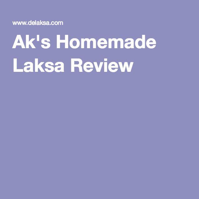 Ak's Homemade Laksa Review