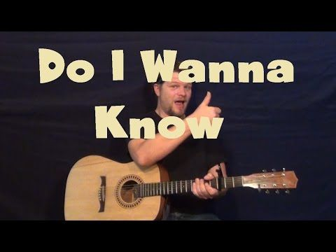 Do I Wanna Know Arctic Monkeys Guitar Lesson How To Play