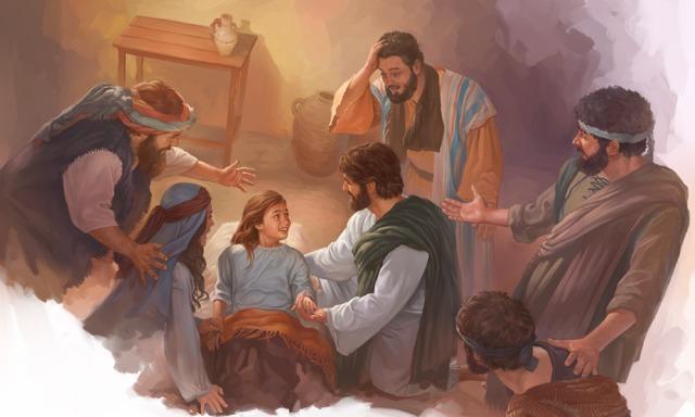 Jesús Hace Muchos Milagros Lecciones De La Biblia Para Niños Lecciones De La Biblia La Hija De Jairo Milagros De Jesús