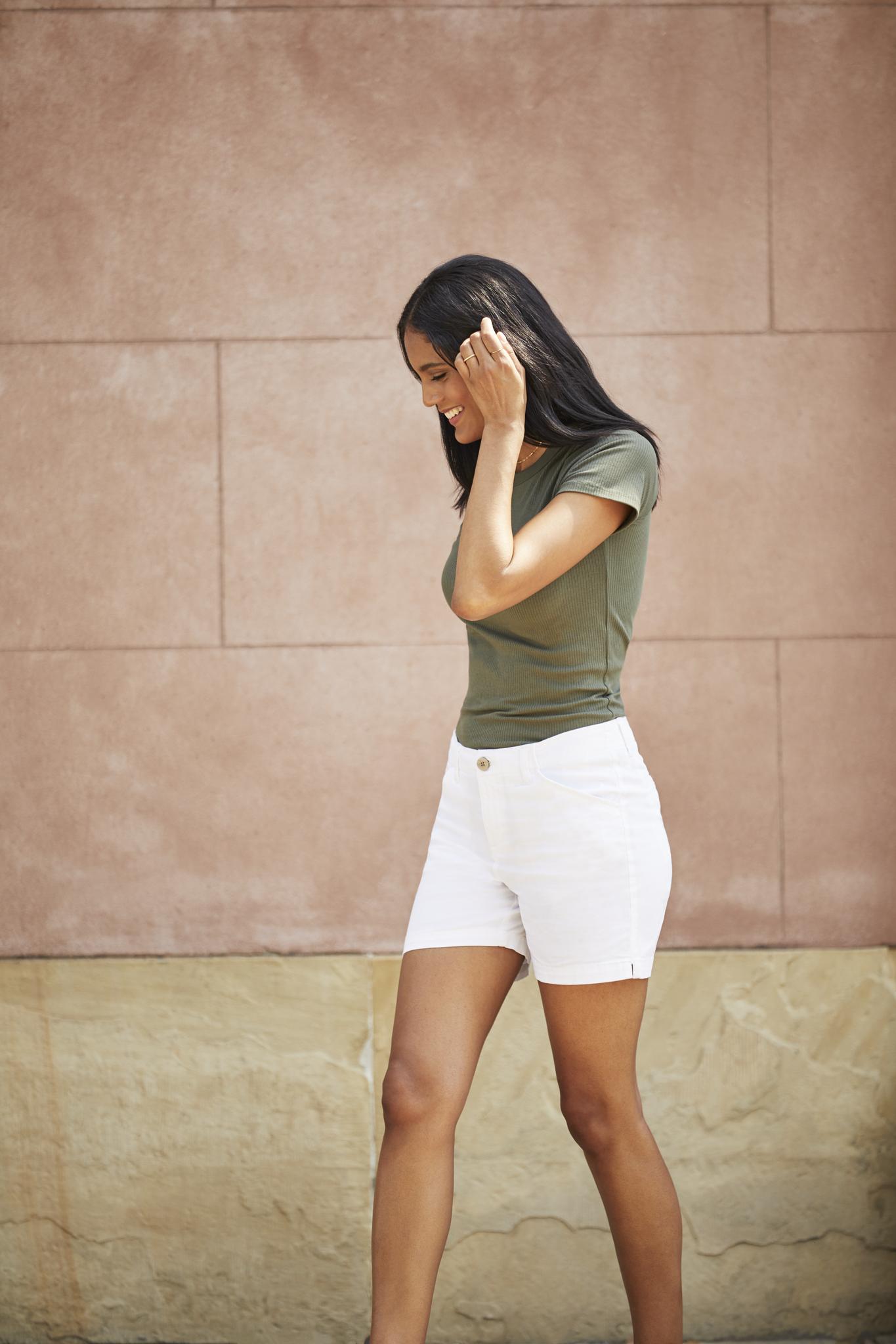 Lee Womens Regular Fit Chino Short Shorts