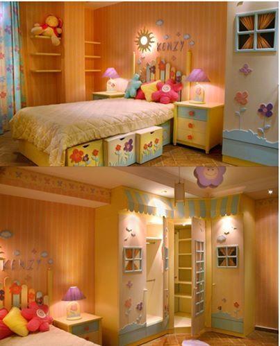 Decoracion para un cuarto de un ni o decoracion de hogar for Decoracion de recamaras de nina