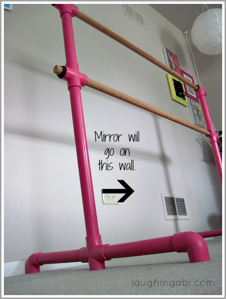 Diy Portable Ballet Barre Diy Ballet Barre Ballet Bar