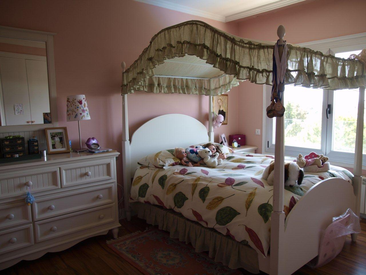 Habitaci n dormitorio para ni a con cama de princesita - Camas para ninas ...