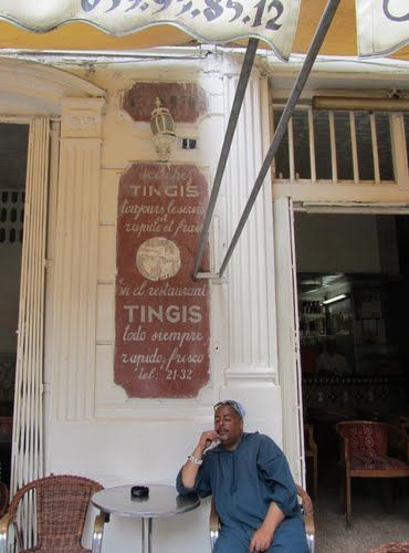Tanger  Caf U00e9 Tingis  Petit Socco