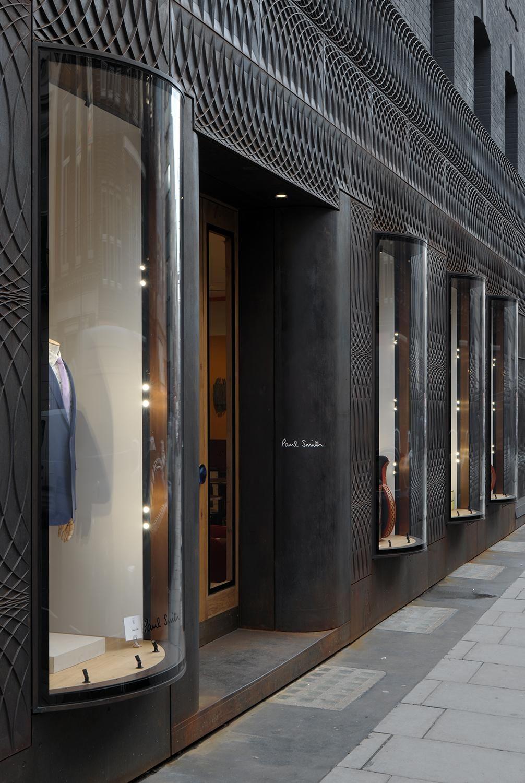 Contemporary Black Facade At The Paul Smith Store 9 Albemarle Street Mayfair