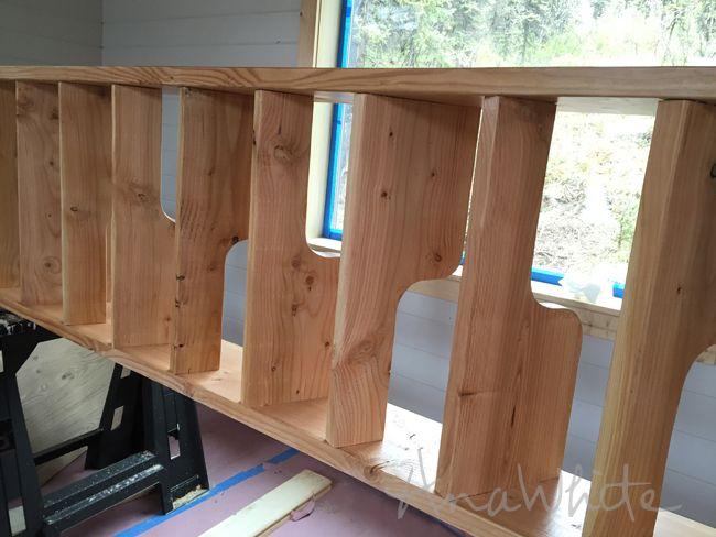Loft Escaleras - alternancia de la pisada ahorro de espacio Escaleras para Loft | Ana Blanco proyectos de carpintería