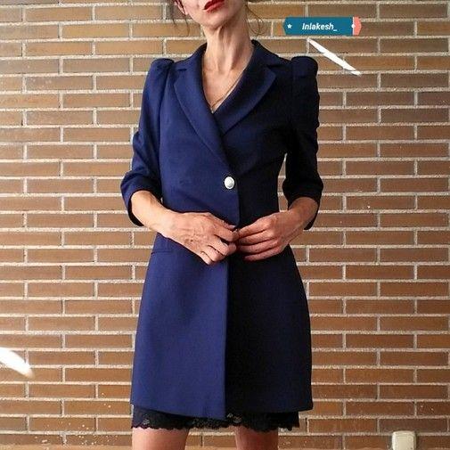 Zara Zara Blazer Vestido Blazer Chicfy Chicfy Perlas Blazer