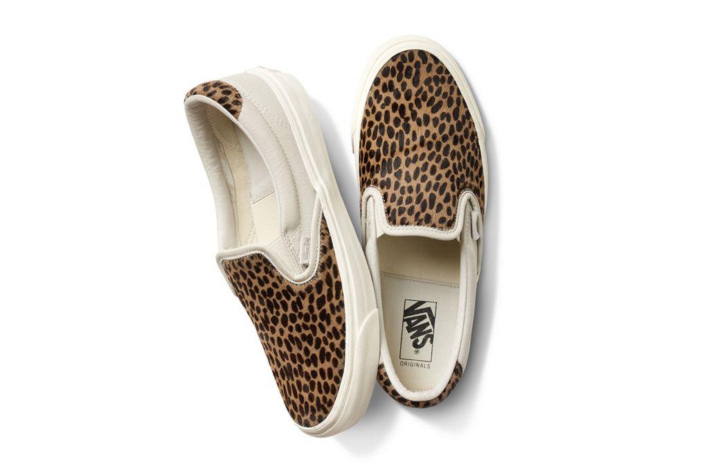 034c4bdc75 Vault by Vans Spring 2016 Leather   Pony Hair Sneakers