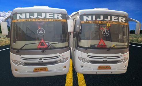 Best Tourist Bus in Chandigarh Punjab & Himachal Pradesh