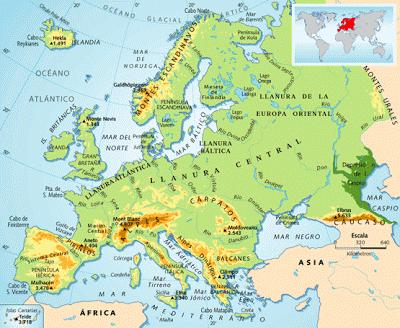 Montes Altai Mapa Fisico.Los Continentes Europa Buscar Con Google Map Ccss Management