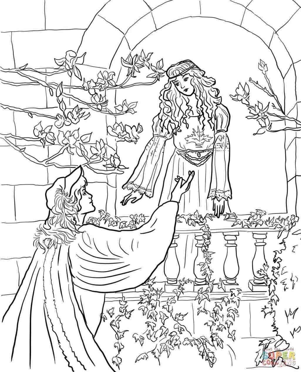 New Post romeo and juliet balcony scene drawing black and white ...