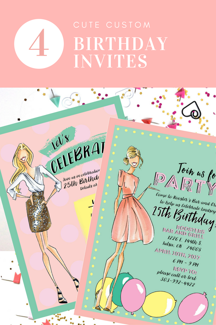 party invitations fashion party invite fashion birthday party