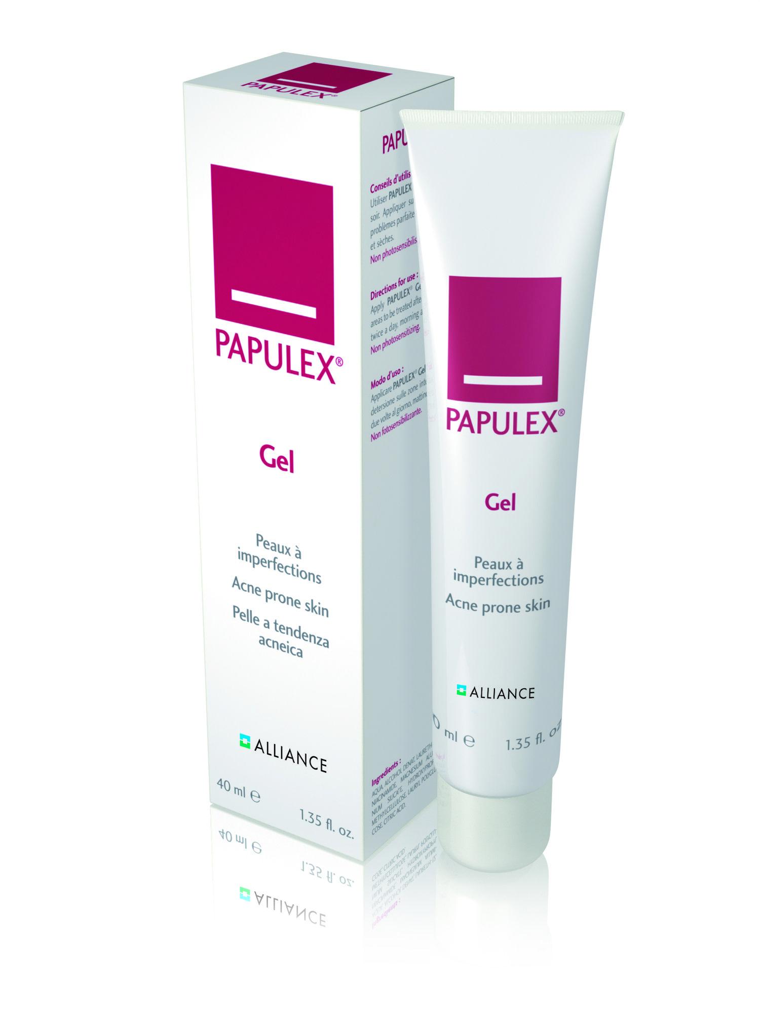 Papulex Gel Oslo Hudlegesenter Oslo Nettbutikk Onlineshop Oily Skin Fet Hud Oljete Hud Acne Acne Prone Skin Uren Hud Skincare Products Sales Dermat