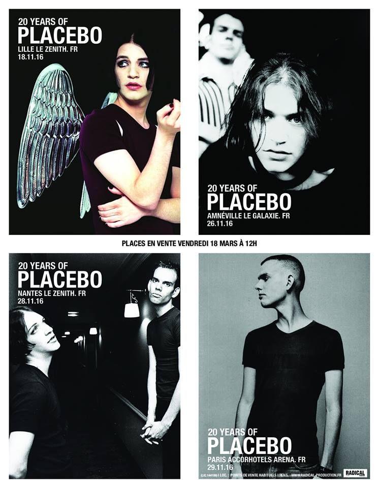 Fabuleux 20 Years Of Placebo World Tour 2016 / 2017 | Placebo  BX11