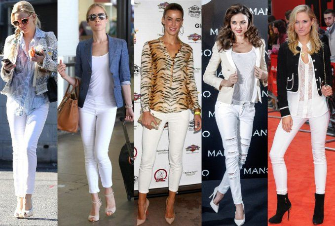 what can i wear with white jeans - Jean Yu Beauty