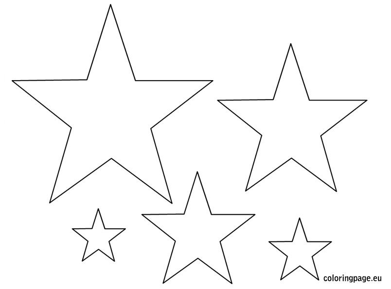 Stars template Pattern Pinterest Star template, Template and Star