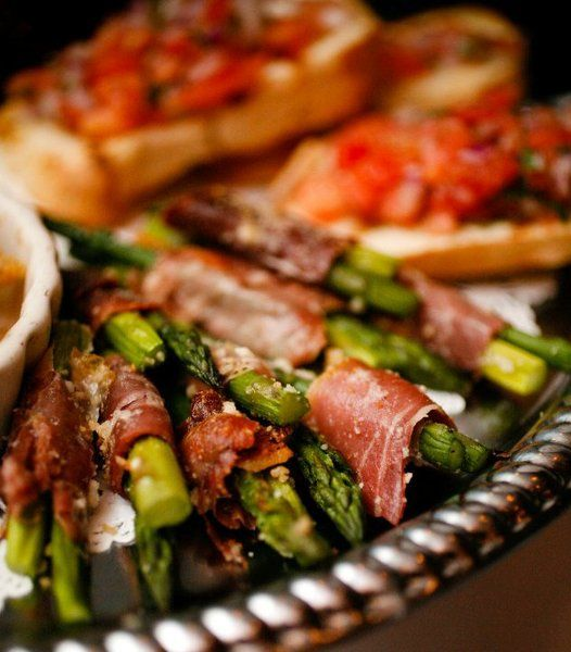 Appetizer Only Wedding Reception: Wedding Appetizers, Wedding