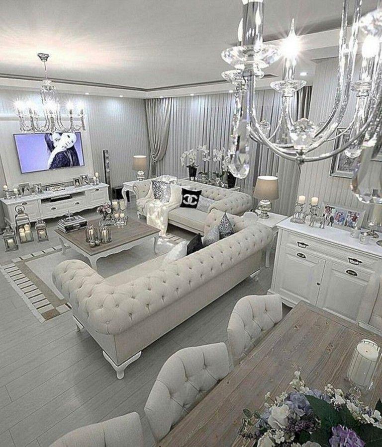 Modern Glam Living Room Decorating Ideas 19: 30+ Gorgeous Glam Room Decoration Ideas