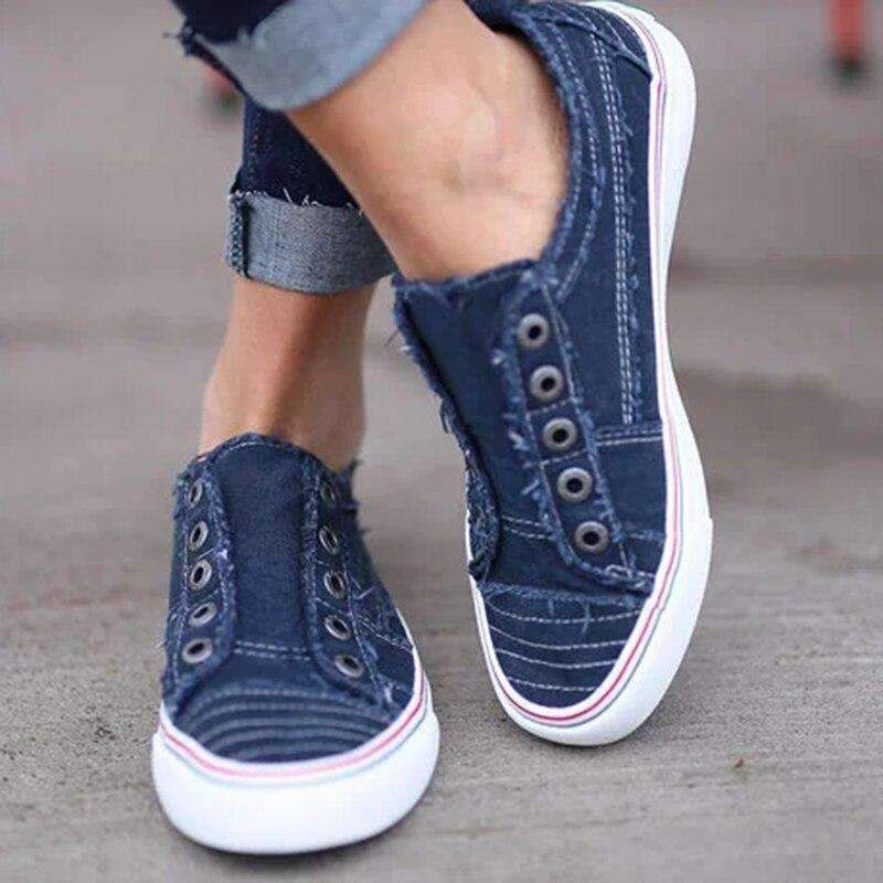 Casual Flat-soled Canvas For Summer in