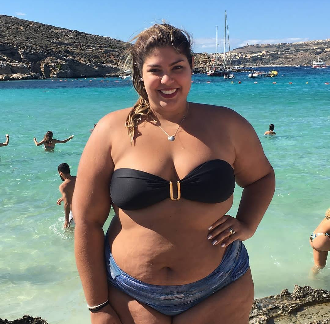 Bbw with tan lines