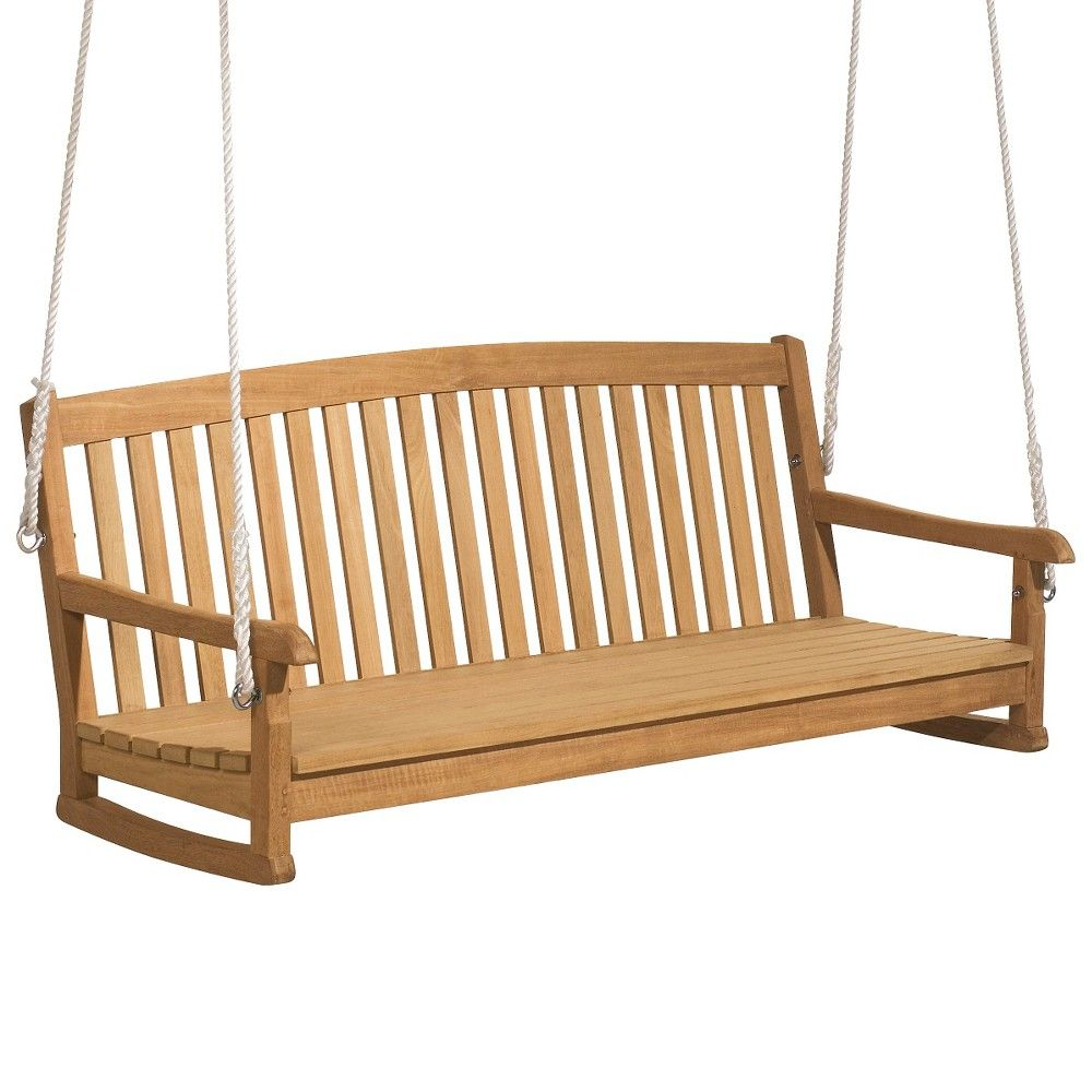 Oxford garden chadwick swing natural shorea wood products