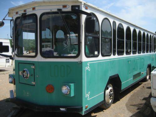 1998 Double K Trolley Bus Freightliner Cummins Allison