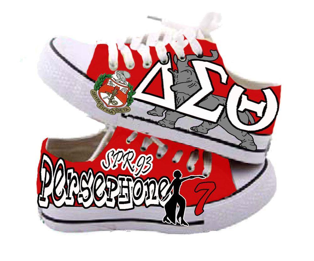 787c0f3224c59e Delta Sigma Theta custom sneakers