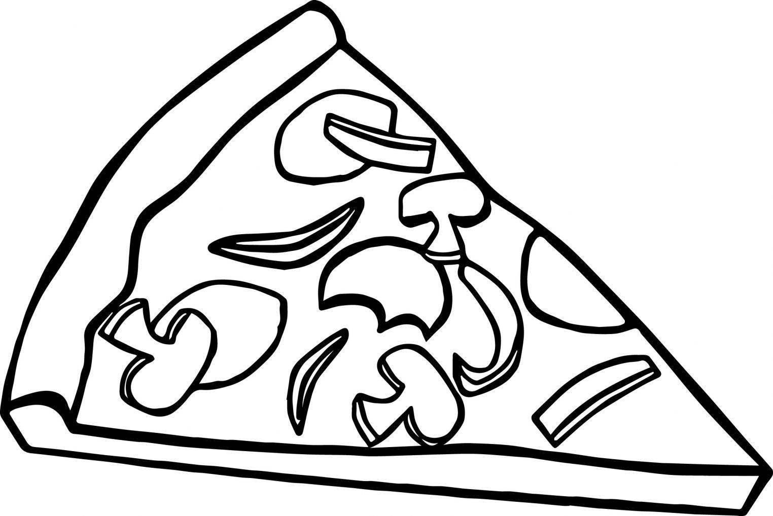 Top 15 Pizza Coloring Pages Only Coloring Pages Pizza Coloring