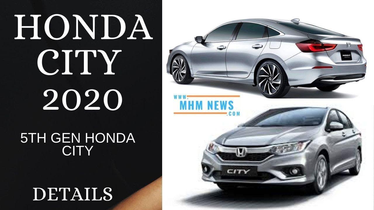 Honda City Fifth Gen 2020 Price Features Interior Facelift Launch D Honda City Honda Facelift