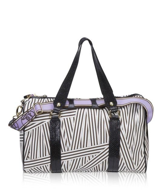e4ac7bdbb74272 disturbed stripe medium duffle - designer luggage - wheeled luggage ...