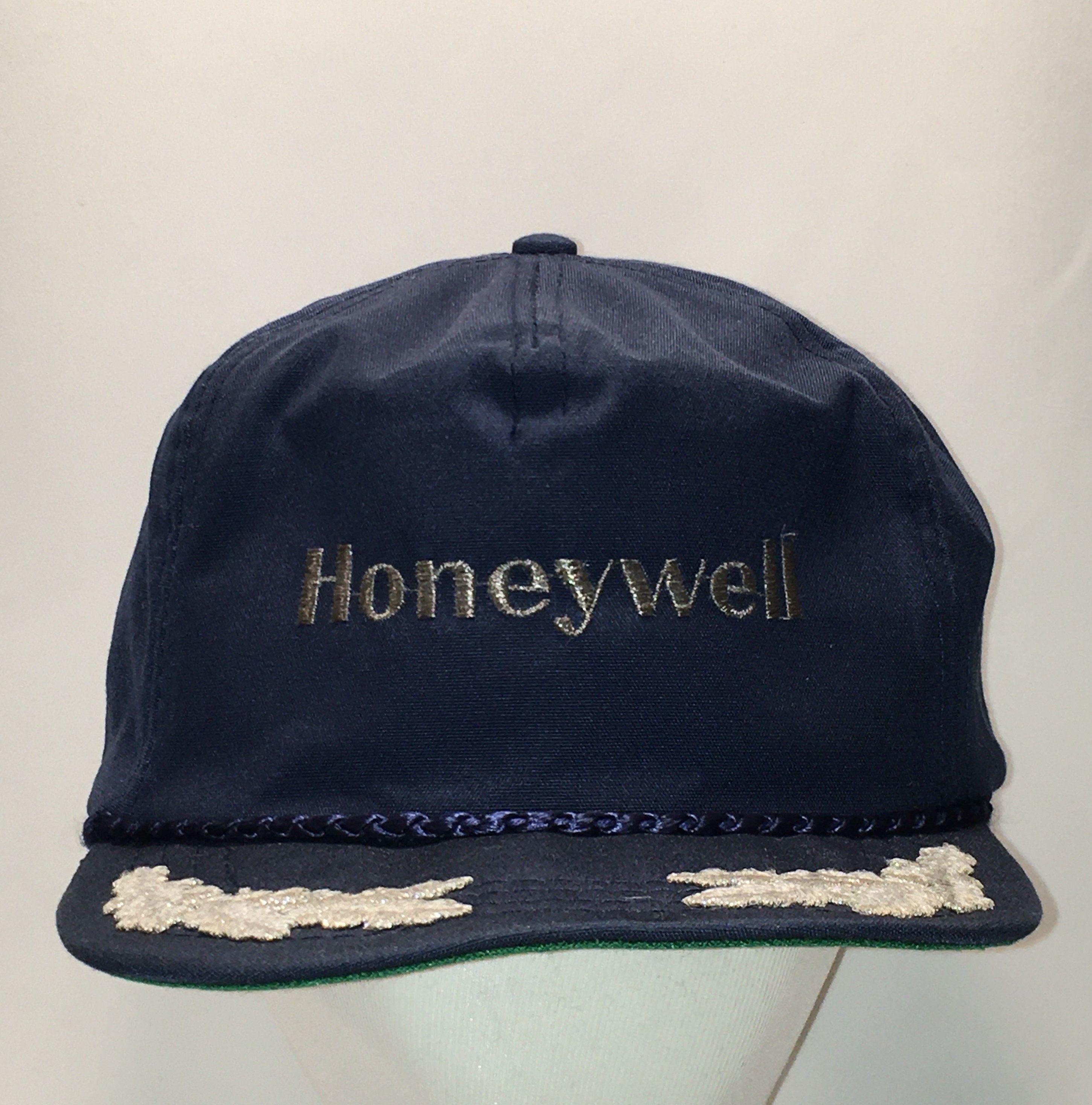 Vintage Made In Usa Hat Honeywell Baseball Cap Aerospace Dad Etsy Hats For Men Men S Hat Dad Hats