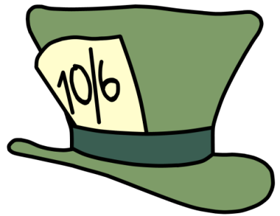 Walfas Custom Props Mad Hatter S Hat Alice In Wonderland Alice In Wonderland Clipart Clip Art
