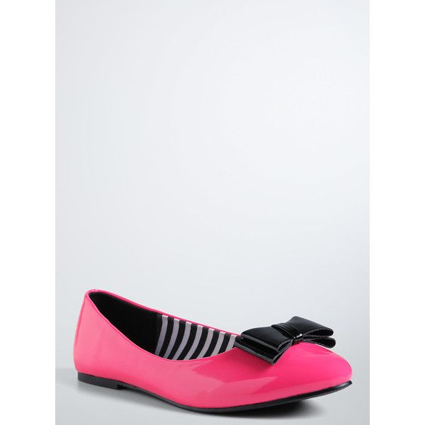 416a08034df2 Torrid Barbie® Bow Flats (Wide Width) ( 40) ❤ liked on Polyvore ...