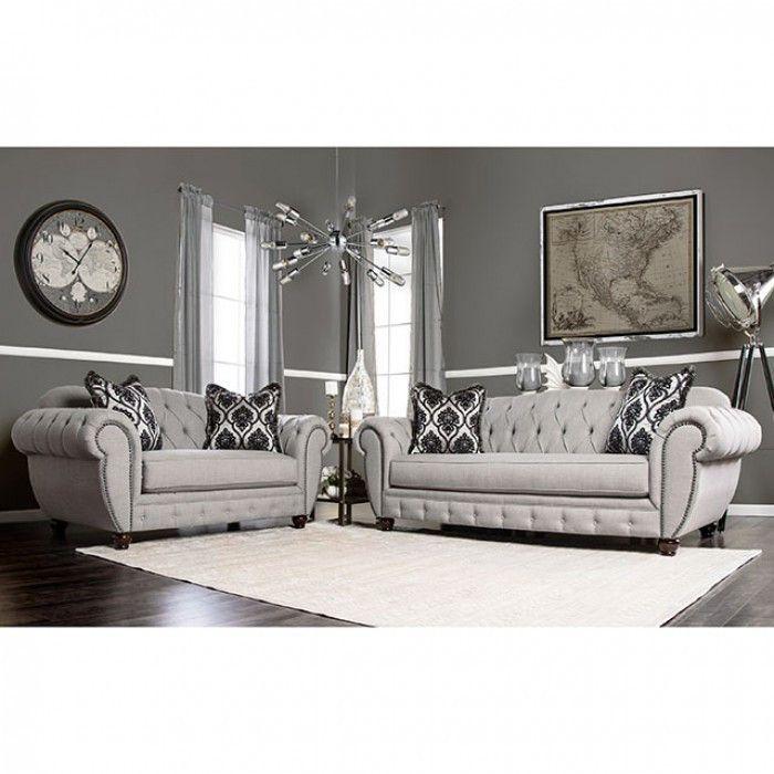 Furniture Of AmericaViviana Sofa SM2291 For 1070