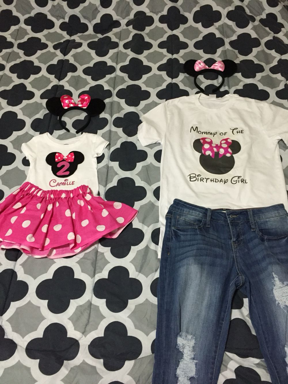 minnie mouse birthday outfits 2 geburtstag pinterest geburtstage. Black Bedroom Furniture Sets. Home Design Ideas