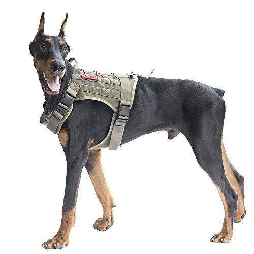 Onetigris Tactical Dog Vest Harness Waterproof Comfortable