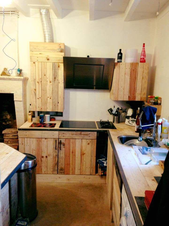 Pallet Kitchen Remodeling   99 Pallets