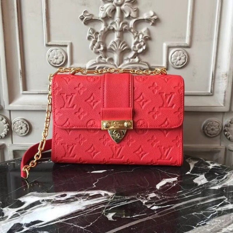 d98b82a301 Louis Vuitton M44240 Saint Sulpice BB Monogram Empreinte Leather Borse  Louis Vuitton, Borsa A Tracolla