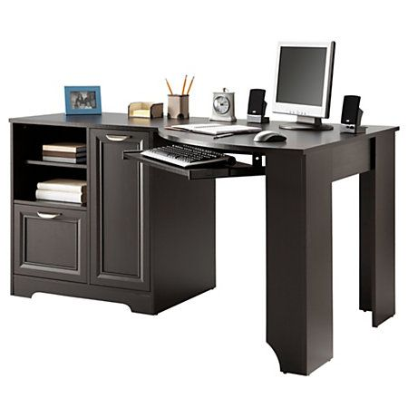 "$131 realspace® magellan collection corner desk, 30""h x 59 1/2""w x"