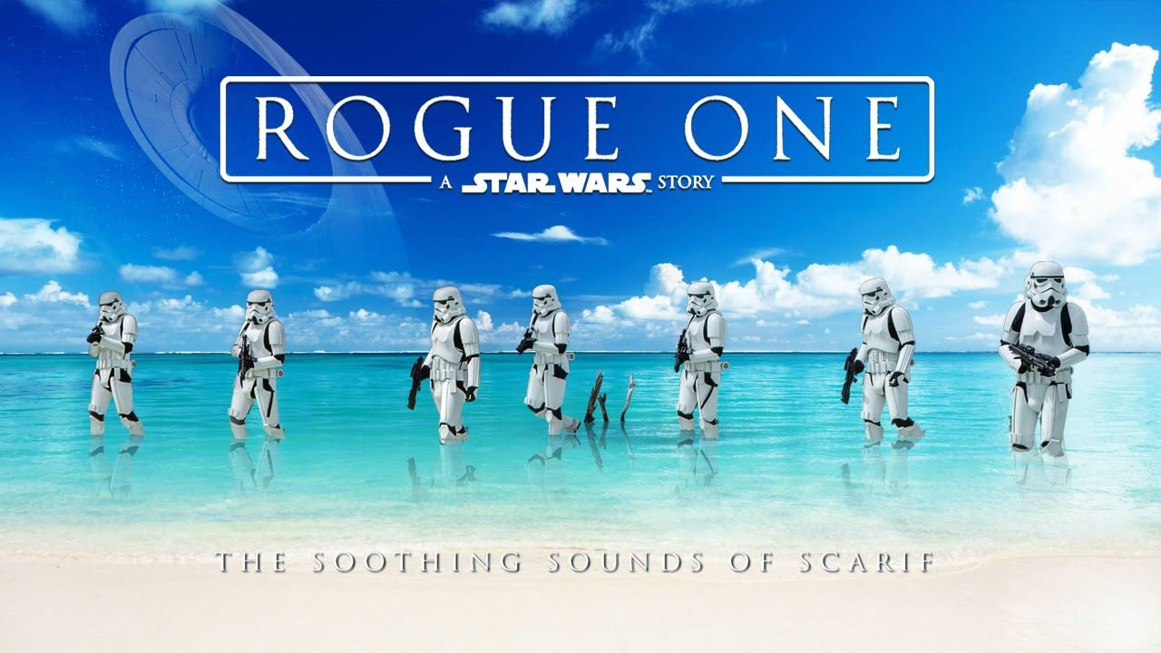 Rogue One: The Soothing Sounds Of Scarif - Video --> http://www ...