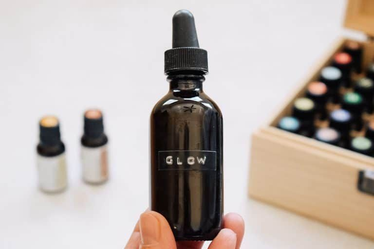 DIY Face Serum for Glowing Skin | Happy Home Happy Heart