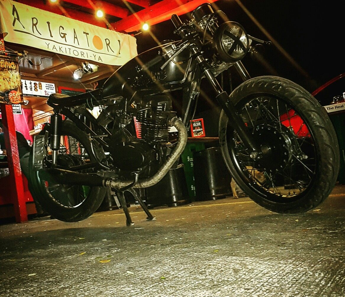 Cafe racer manila philippines old school ride with style arigatori ...