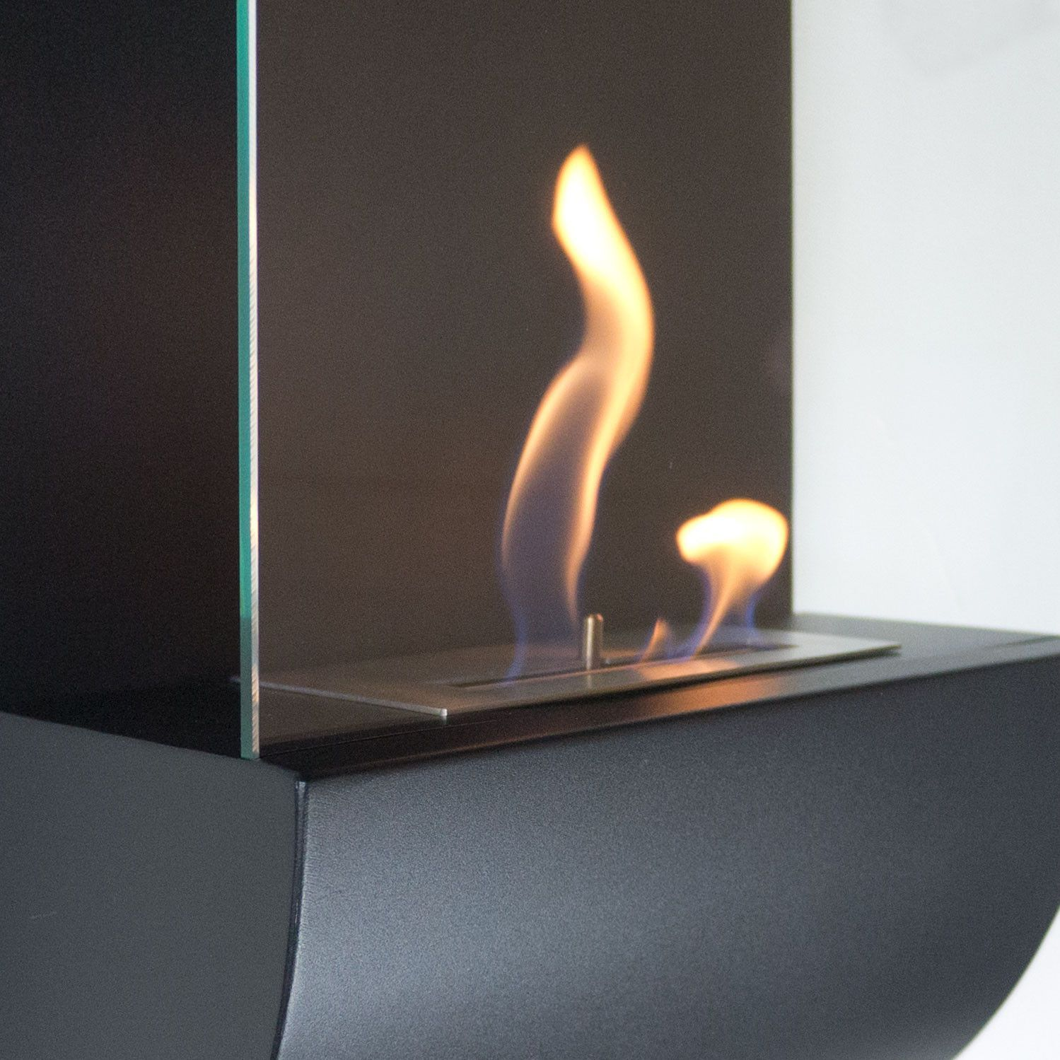 nu flame wall mounted bio ethanol fireplace torcia products