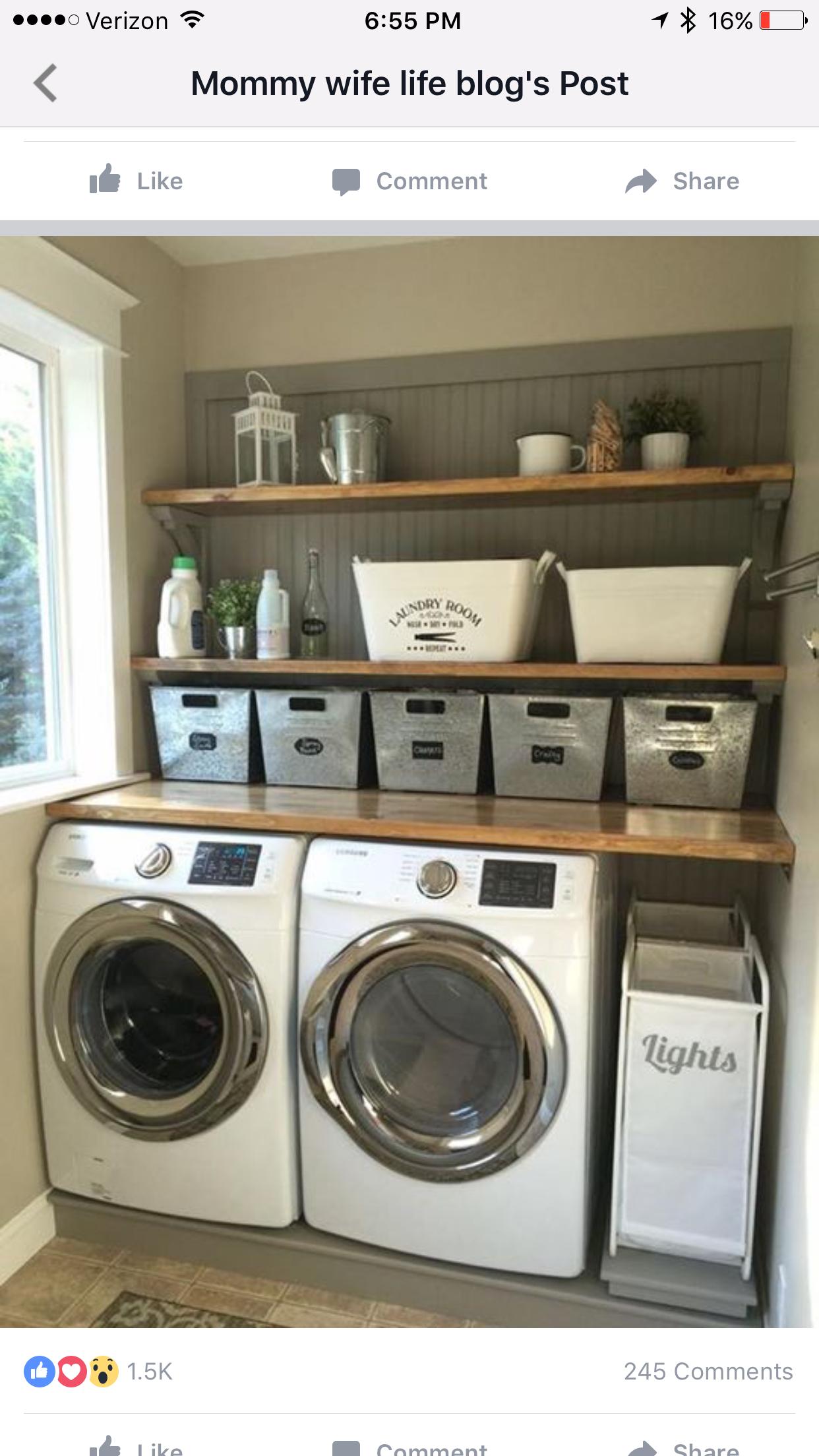 Laundry Room Ideas In Garage
