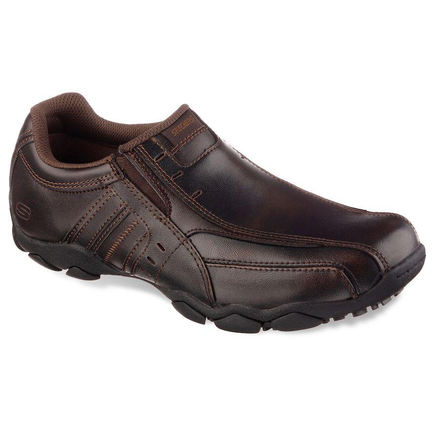 Skechers Diameter Nerves Men's Loafers, Blue | Loafers men