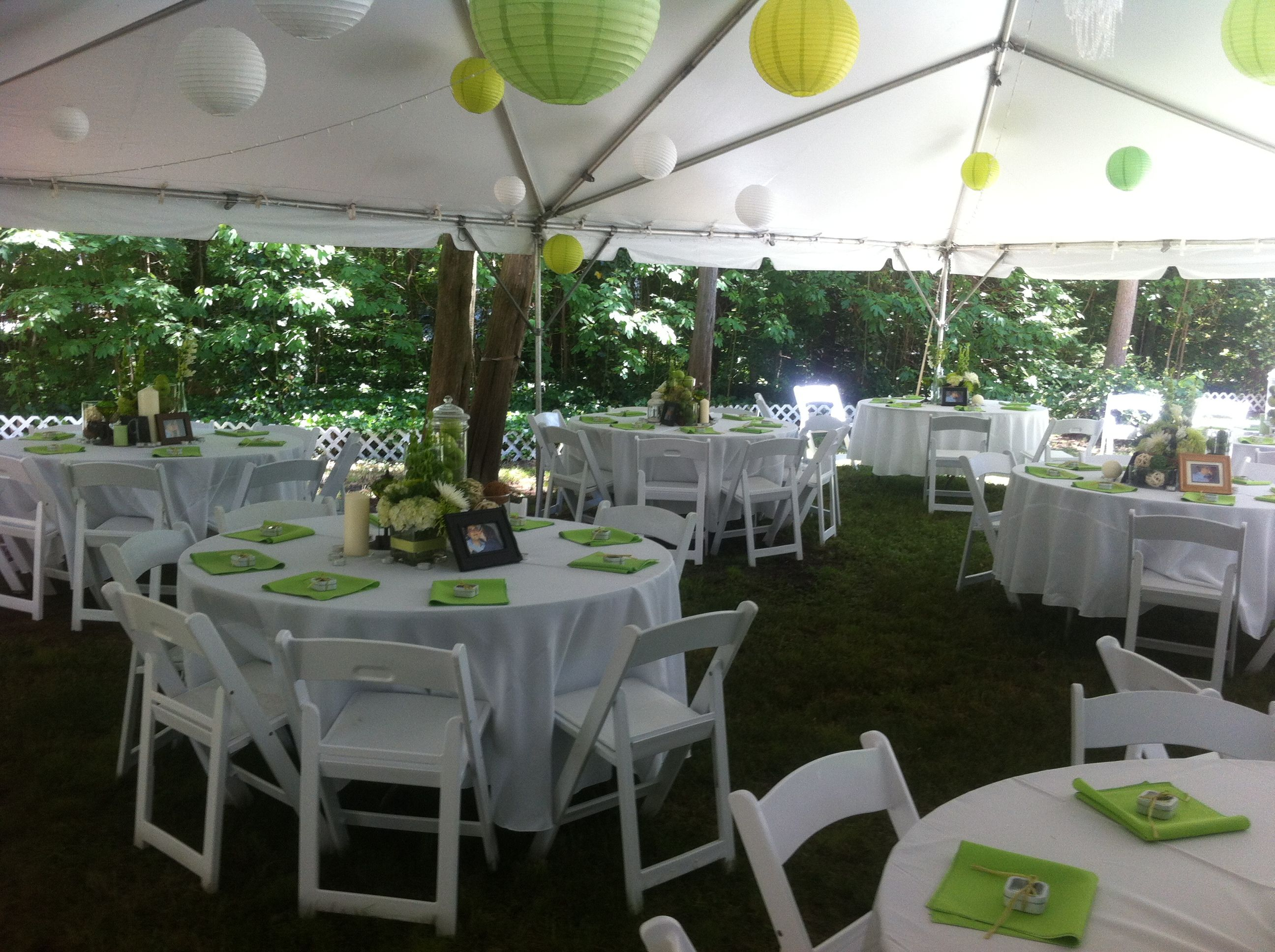 ideas decor home tent simple backyard reception wedding decorations a decoration office amys outdoor gallery on budget