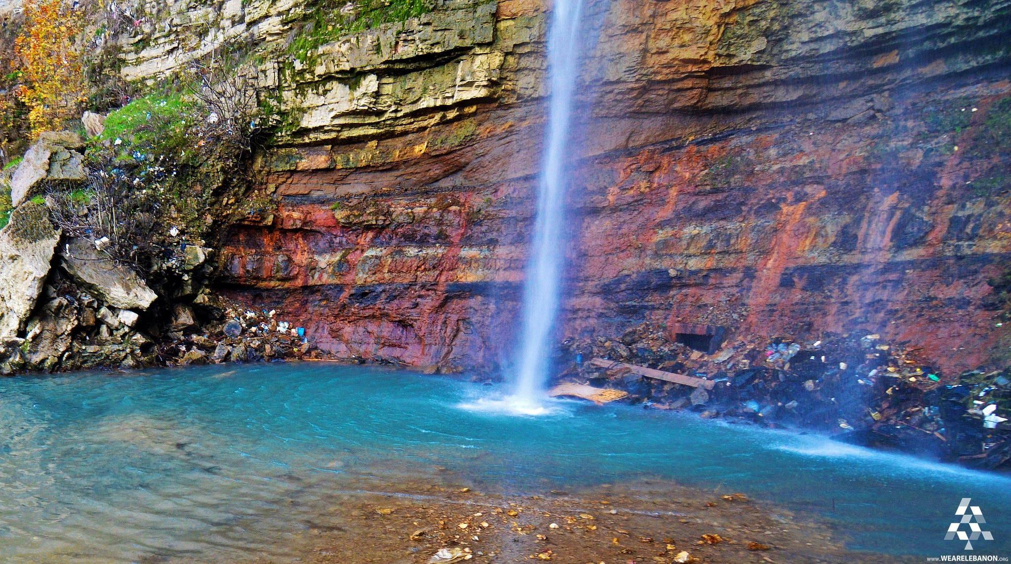 The beautifull #Jezzine waterfall شلال جزين الرائع By Ibrahim Anouti #Lebanon #WeAreLebanon