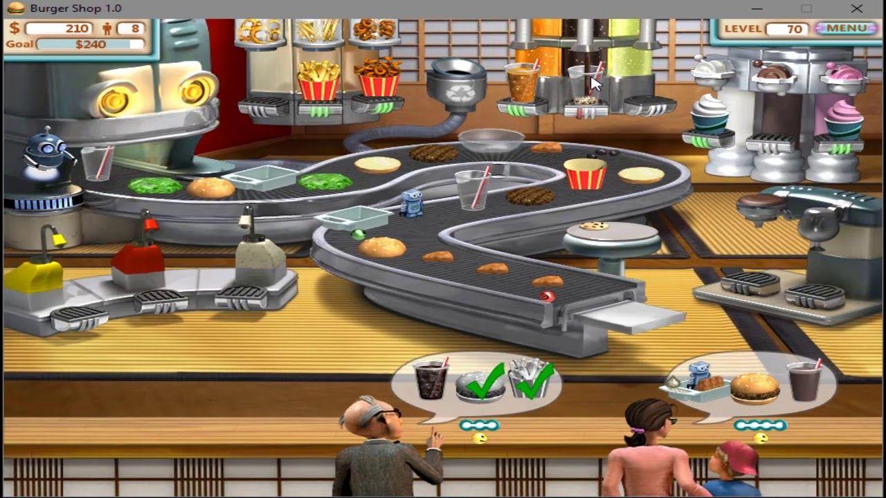 Burger Shop walkthrough level 70 five stars Good old