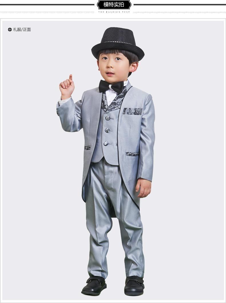 Dress Clothes 2015 Little Boy Suit Flower Wedding Suit Dress Suit ...