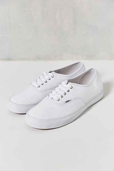 4d7c35cf11 Vans Authentic Italian Leather Monochromatic Mens Sneaker - Urban Outfitters